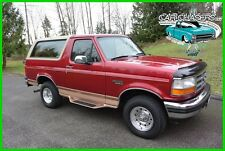 1995 Ford Bronco NO RESERVE