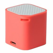 Mini Bluetooth Speaker Selfie Remote Anti Lost Handsfree Android/Apple (Red)