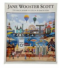 550PC JANE WOOSTER SCOTT • AS GOOD AS IT GETS • 550 PIECE JIG SAW PUZZLE USA!