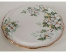 Royal Albert White Dogwood Tea Tile Trivet for Teapot Tea Pot