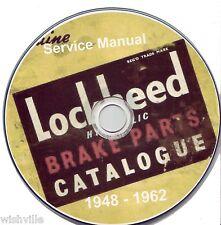 Lockheed Brakes Parts Information  Circa 1948 - 1962 DVD