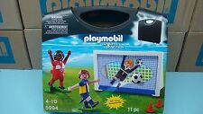 Playmobil 5994 Carrying Case Soccer mint in BOX NEW team league sport ball