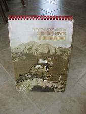 Vintage Winchester-Western Sporting Arms & Ammunition Standup Store Display Book