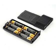 Extended 6x AA Battery Case Pack Shell Box For BaoFeng Radio UV5R UV5RB UV5RE