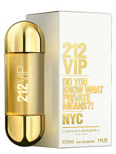 212 VIP de Carolina Herrera - Colonia / Perfume EDP 30 ml - Mujer / Woman NYC