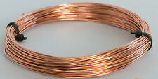 0.8 mm (20 gauge) COPPER CRAFT/JEWELLERY WIRE x 6 metres (6 Meters)