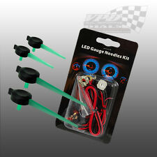 VAUXHALL CORSA GREEN LED NEEDLE KIT DASHBOARD SPEEDO 12V LIGHTING KIT