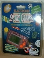 ELECTRONIC SPORT GAMES - CALCIO - GiG - Tiger Hand & Hold Game Watch Table Top
