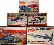 CAPTAIN SCARLET : SET OF 5 CAPTAIN SCARLET MODEL KITS MADE BY IMAI