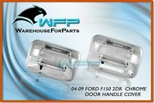 04-11 Ford F-150 2DR Chrome Door Handle Cover w/ Keypad w/o PSG Keyhole