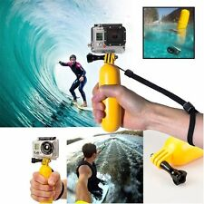 Floaty Floating Hand Grip Handle Mount Accessory + Strap For GoPro Hero 3+ 3 2 1
