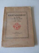Luzel -  KONTADENNOU AR BOBL E BREIZ IZEL - 1939