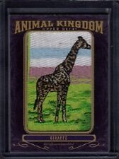 2012 Giraffe Upper Deck Goodwin Champions Animal Kingdom Patch AK-104