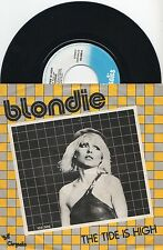 "BLONDIE ►  The Tide Is High - 45 Tours / 7"" Vinyle - NETHERLANDS - 1980"