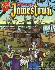 The Story of Jamestown (Graphic History) by Braun, Eric