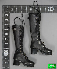 1:6 Scale PHICEN Van Helsing PL2015-78 - Black Long Boots (Need Peg to Wear)