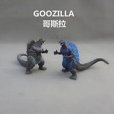 lot of 2 Godzilla Monsters  Figure set Mecha Fire Godzilla Gigan