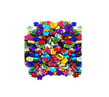 Rhinestones Gemstones 200g Small Size assortment of Colours Arts and Crafts