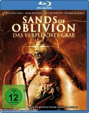 BLU RAY - SANDS OF OBLIVION - THE CURSED GRAB - NEW/BOXED