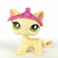 Authentic Littlest Pet Shop 733 Cat Short Hair Kitty Kitten, Chat Europeen LPS.