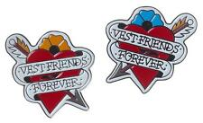 VEST FRIENDS FOREVER SOFT ENAMEL PIN SET BY THRILLHAUS