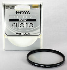 Hoya ALPHA 67mm UV Digital Lens Filter Multi-Coated Glass USA Dealer C-ALP67UV