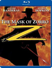 THE MASK OF ZORRO - BLU-RAY - REGION B UK