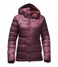 The North Face Women's IMMACULATOR PARKA 800 Down Climbing Jacket Garnet Red M