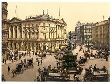 5 London Piccadilly Circus St Pauls Cathedral Tower Hyde Park Corner Old Photos