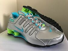 New Nike Womens Shox NZ EU Running Shoes 488312-022 Sz 7.5