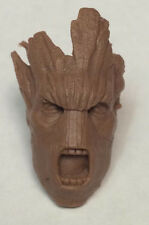 Marvel Legends GoTG Guardians Of The Galaxy GROOT Head Custom Sculpt 1:12 Scale