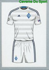 443 SHIRT HOME KIT  FC DYNAMO KYIV STICKER CHAMPIONS LEAGUE 2016 TOPPS