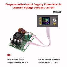 50V 15A Adjustable Step-down Regulated LCD Digital DC Power Supply Module Q5M4