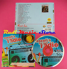 CD ASCOLTA LA TUA RADIO Compilation FRANCO BAGUTTI FILADELFIA no mc dvd(C38)