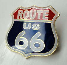ZP326 Route 66 Icon of America Historic Highway lapel pin badge tac