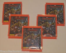 5x Panini Marvel AVENGERS Age of Ultron - Album Stickers *Sealed Packets/Packs*