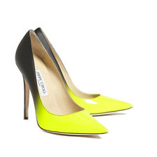 [NEW] Jimmy Choo | Anouk | Yellow/Black | UK 4.5 | EU 37.5 | RRP £475 | Heels