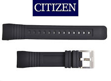 Citizen PROMASTER BJ2120-07E BJ2128-05E watch band BLACK rubber strap 4-S061881