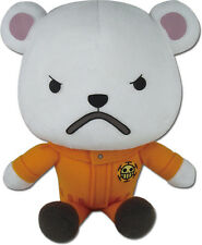 "*NEW* One Piece: Bepo Sitting 8"" Plush by GE Animation"