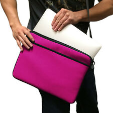 "Pink 13"" 13.3"" Messenger Shoulder Case Bag for Apple Macbook Pro & Macbook Air"