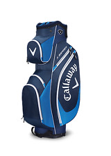 Brand new 2017 callaway golf x série cart/trolley 14 way sac bleu marine/blanc