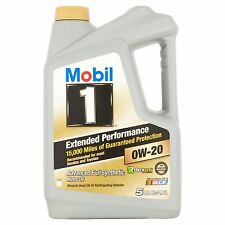 Mobil 1 Extended Performance 0W-20 Full Synthetic Motor Oil 5 qt