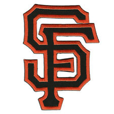 "San Francisco Giants Large SF Logo Embroidered Iron-on patch 5""x3.5"""
