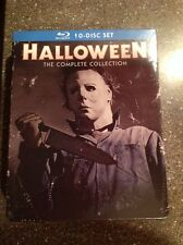 Halloween: The Complete Collection (Blu-ray Disc, 2014, 10-Disc Set)