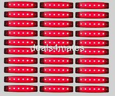 90 pcs 24V LED REAR RED TAIL SIDE MARKER LIGHTS FOR TRUCK LORRY DAF MAN SCANIA