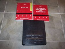 1994 Lincoln Mark VIII 8 Factory Workshop Shop Service Repair Manual Set