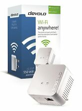 DEVOLO 9626 POWERLINE DLAN 550 WIFI SINGLE ADAPTER FOR USE WITH STARTER KITS ETC