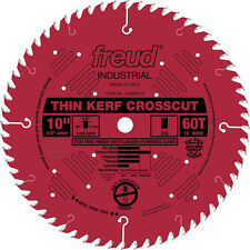 Freud LU88R010 Industrial 10-inch 60T ATB Thin Kerf Crosscutting Saw Blades