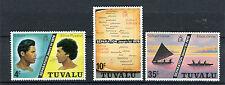 Tuvalu 1976 soggetti diversi 1-3 mnh