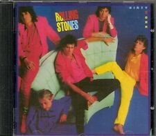 CD ALBUM 10 TITRES--THE ROLLING STONES--DIRTY WORK--1986